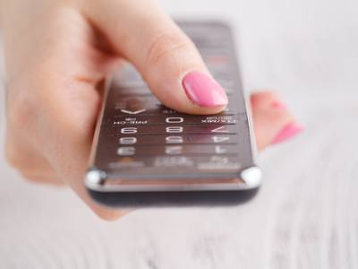 Customer using remote after universal remote setup